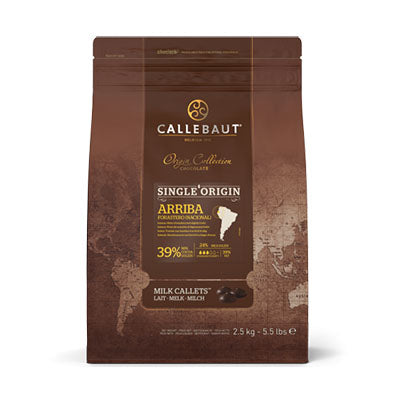 Callebaut 'Arriba' 39% Milk Chocolate Callets