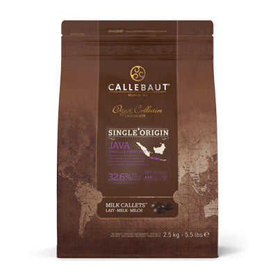 "Callebaut ""Java"" 32.6% Milk Chocolate Callets"