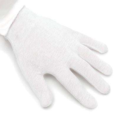 White Light Cotton Gloves