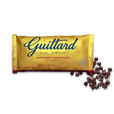 Guittard 46% Semisweet Baking Chips (5 lbs)