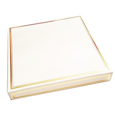 Elegant Gold Trim Boxes