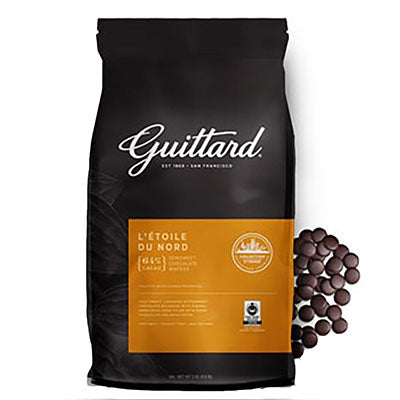 Guittard 64% 'L'Etoile du Nord' Bittersweet Chocolate Callets