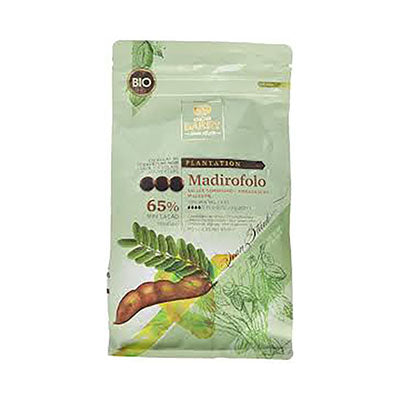"Cacao Barry ""Madirofolo"" 65% Bittersweet Chocolate Callets"
