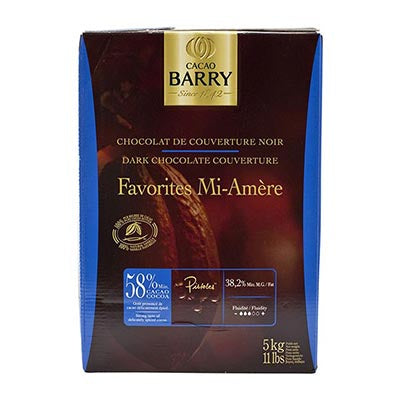 Cacao Barry 58% 'Mi Amere' Semisweet Chocolate