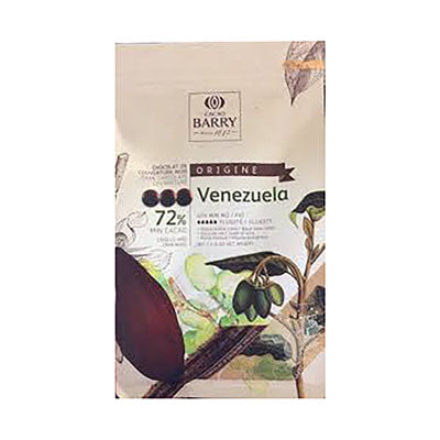 "Cacao Barry ""Venezuela"" 72% Bittersweet Chocolate Callets"