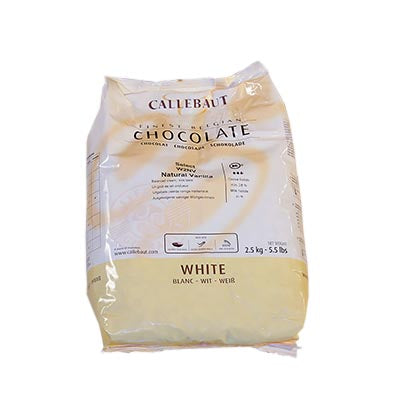 Callebaut 28% 'W2' White Chocolate Callets