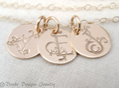 Jewelry with Initials