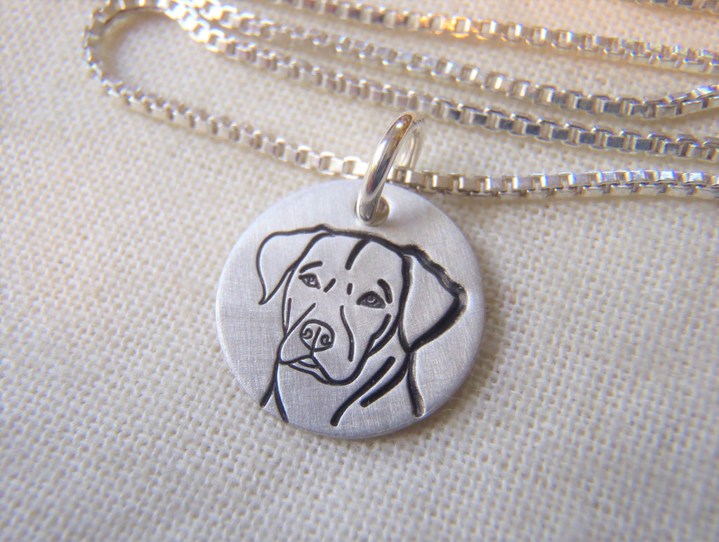 sterling silver pointer dog necklace hand crafted by drake designs jewelry