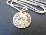 sterling silver Swimmer necklace gifts for swimmer jewelry - Drake Designs Jewelry