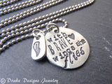with brave wings she flies inspirational necklace - Drake Designs Jewelry