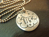 inspirational graduation gift idea for her Dream big necklace inspirational graduation gift idea for her - Drake Designs Jewelry