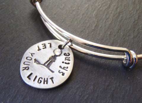 Let your light shine bracelet Christian jewelry - Drake Designs Jewelry