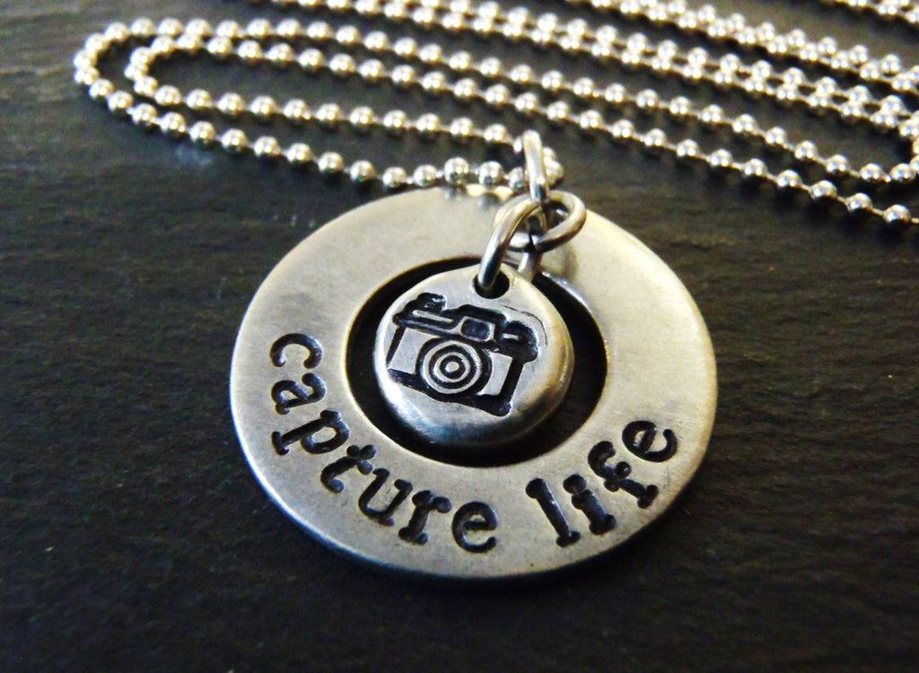 Photographer gifts Capture life necklace - Drake Designs Jewelry