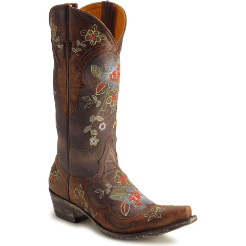 "Old Gringo Ladies Bonnie 13"" Chocolate Western Boots Brown L649-1"
