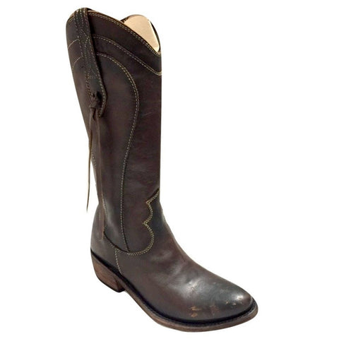 Liberty Black Ladies Stonewashed Toscano T-Moro Boots LB-711132D - Wild West Boot Store