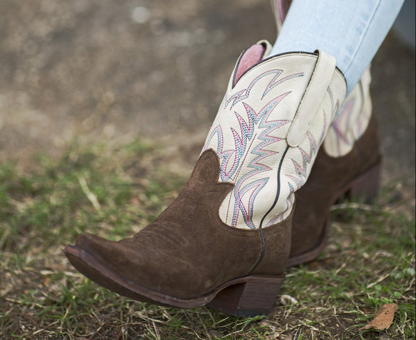 Junk Gypsy Lane Ladies Dirt Road Dreamer Chocolate Suede Boots JG0003B - Wild West Boot Store - 4