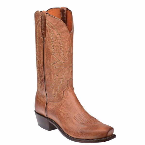 Lucchese Men's Tan Mad Dog Crayton Boots N1547.74 - Wild West Boot Store - 1
