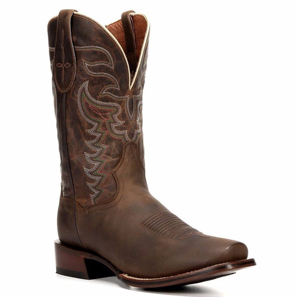 Dan Post Men's Duncan Brown Multicolored Embroidery Boot DP4134 - Wild West Boot Store - 1