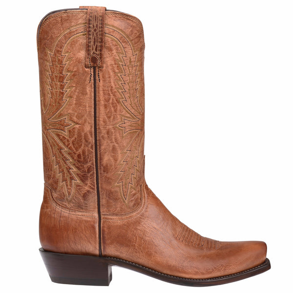 Lucchese Men's Tan Mad Dog Crayton Boots N1547.74 - Wild West Boot Store - 2