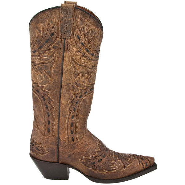 Dan Post Ladies Tan Mad Cat Sidewinder Boots DP3422 - Wild West Boot Store - 2