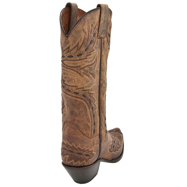 Dan Post Ladies Tan Mad Cat Sidewinder Boots DP3422 - Wild West Boot Store - 3