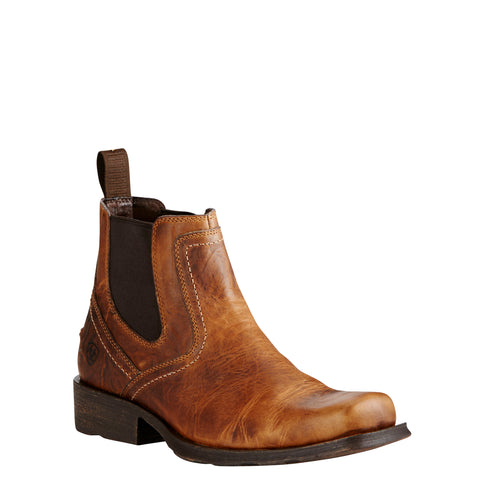 Ariat® Men's Midtown Rambler Barn Square Toe Chelsea Boots 10019868