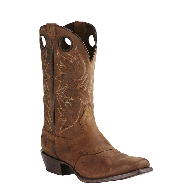Ariat® Men's Circuit Striker Weathered Brown Square Toe Boot 10019974 - Wild West Boot Store