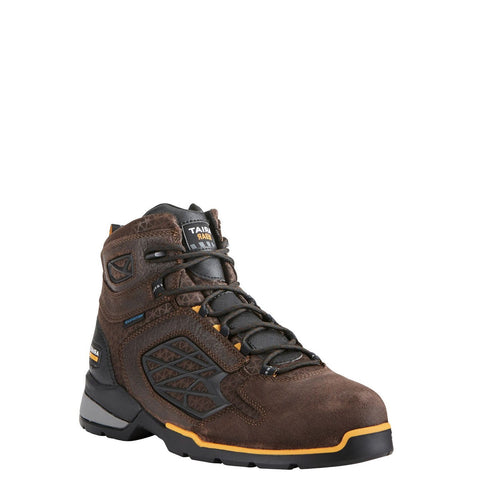 Ariat® Men's Rebar Flex H2O Chocolate Composite Toe Work Boot 10021498 - Wild West Boot Store