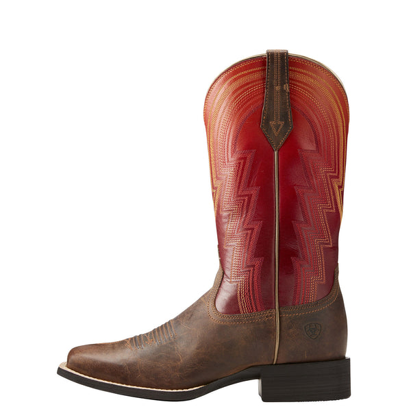 Ariat® Ladies Round Up Waylon Rodeo Tan & Ombre Sunrise Boots 10021587 - Wild West Boot Store