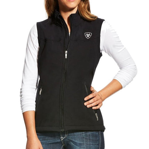 Ariat Childrens New Team Black Softshell Vest 10034305