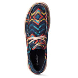 Ariat® Men's Hilo Blue Aztec Shoes 10035816
