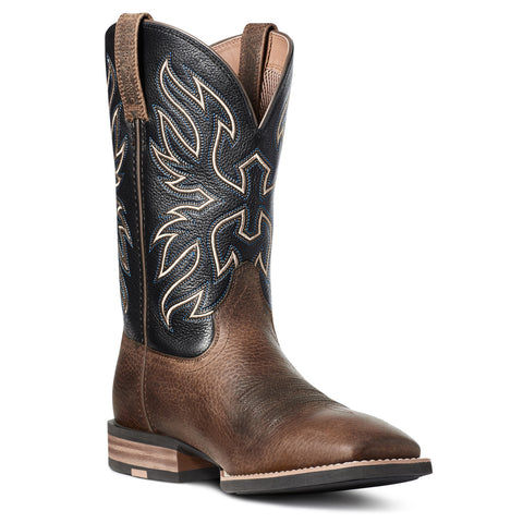 Ariat Men's Everlite Vapor Ranch Brown & Black Deertan Boots 10035963
