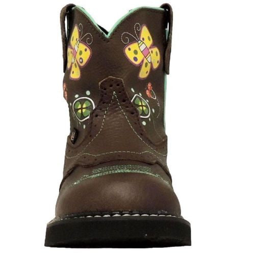 Justin Children's Gypsy Floral Light-Up Boot 9207JR - Wild West Boot Store - 2