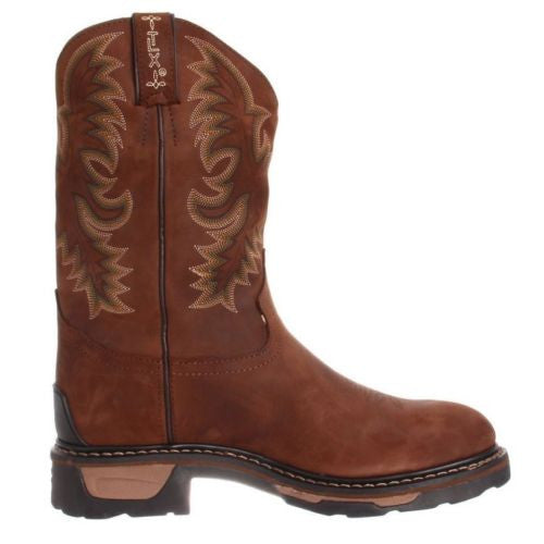 Tony Lama Men's Tan Cheyenne Waterproof TLX Steel Toe Work Boot TW1019 - Wild West Boot Store - 2