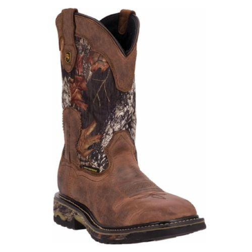 Dan Post Men's Brown/Camo Work Boot DP69408 - Wild West Boot Store - 1