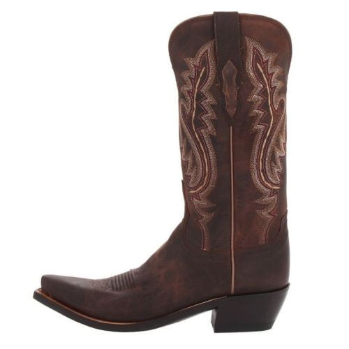Lucchese Ladies Cassidy Chocolate Madras Goat Boots M5002.S54 - Wild West Boot Store - 5