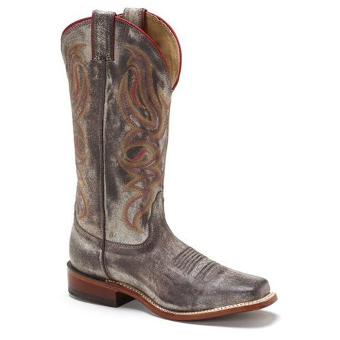 Nocona Ladies Wild side Grey Cowhide Western Boot LD4501 - Wild West Boot Store