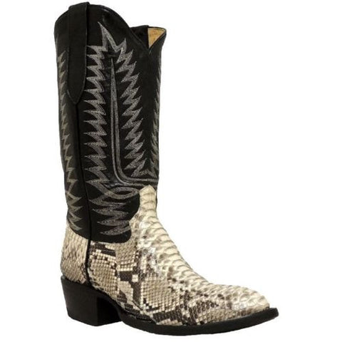 Cowtown Men's Back Cut Python Boots W808 - Wild West Boot Store - 1