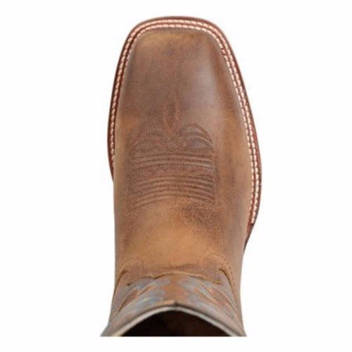 Double H Men's Brown Blue Casual Boot DH3584 - Wild West Boot Store - 6