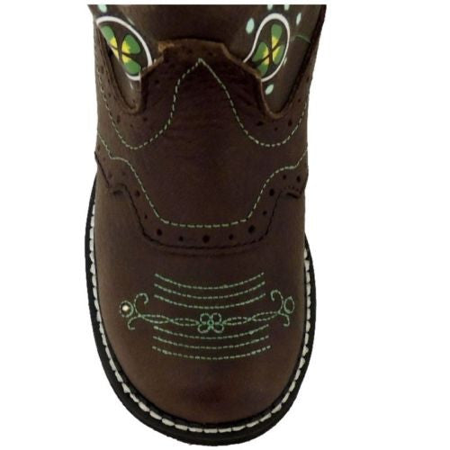 Justin Children's Gypsy Floral Light-Up Boot 9207JR - Wild West Boot Store - 5