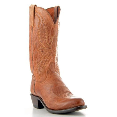 Lucchese Men's Since 1883 Crayton Tan Mad Dog Boots N1547.R4 - Wild West Boot Store - 1
