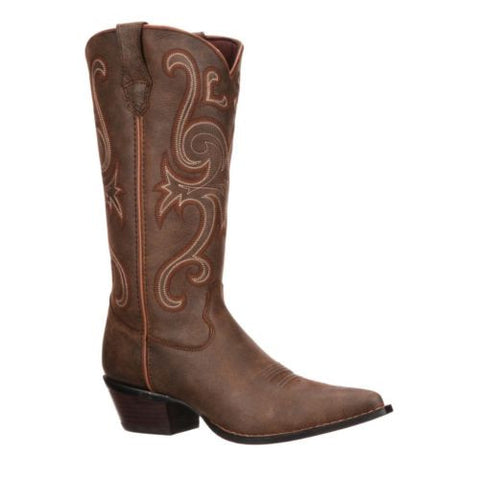 Durango Ladies Crush Brown Jealousy Western Boot RD3593 - Wild West Boot Store - 1