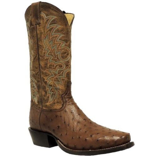 Tony Lama Men's Brown Ostrich Boot Y2696 - Wild West Boot Store - 1