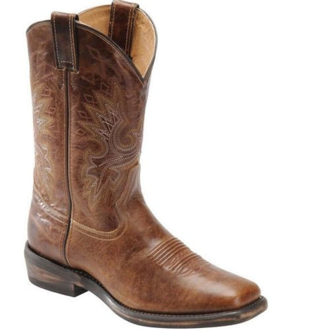 Double H Men's Vintage Brown Roper Boot DH5232 - Wild West Boot Store - 1