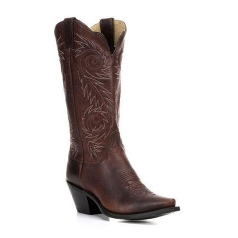 Justin Ladies Damiana Cognac Boot L4333 - Wild West Boot Store - 1