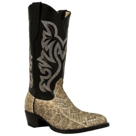 Cowtown Men's Rattlesnake Leather Western Boot W715 - Wild West Boot Store - 1