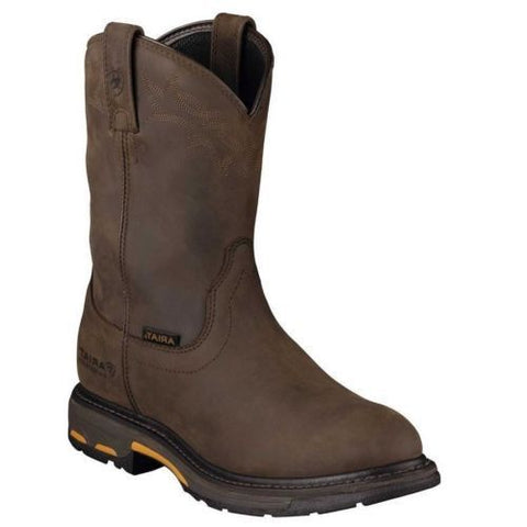 Ariat Men's WorkHog Pull-On H2O Waterproof Boots 10001198 - Wild West Boot Store - 1