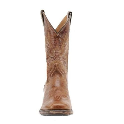 Double H Men's Vintage Brown Roper Boot DH5232 - Wild West Boot Store - 2