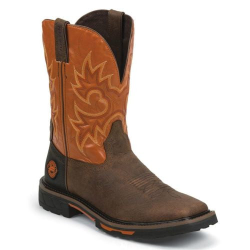 Justin Men's Hybrid Western Work Boot WK4944 - Wild West Boot Store