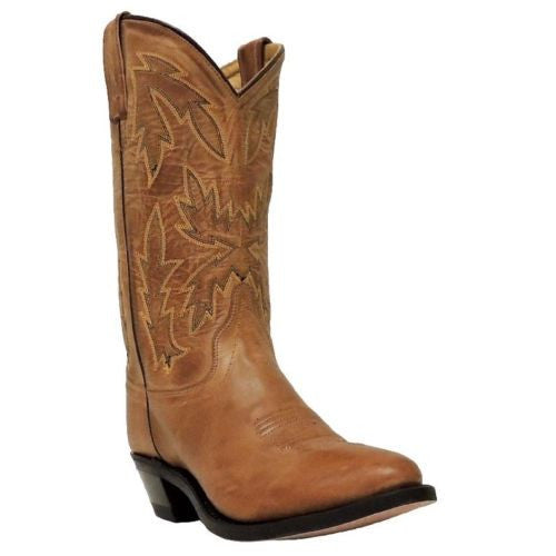 Old West Ladies Tan Embroidered Boot OW2029L - Wild West Boot Store - 1